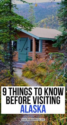 Visiting Alaska? Here are 9 things to know before traveling to Alaska| What you need to know before visiting Alaska| Things to know before visiting Alaska #alaska #usa #travel
