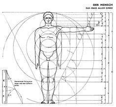 Človek a zlatý rez - OZ Biosféra Sacred Architecture, Cultural Architecture, Golden Ratio In Nature, Drawing Body Proportions, Fibonacci Golden Ratio, Fibonacci Spiral, The Golden Mean, Golden Rule, Divine Proportion