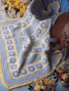 Garden Afghan Crochet Pattern