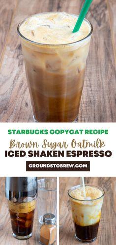 Ninja Coffee Bar Recipes, Coffee Drink Recipes, Starbucks Recipes, Starbucks Drinks, Starbucks Coffee, Coffee Drinks, Iced Coffee With Keurig, Healthy Iced Coffee, Homemade Iced Coffee