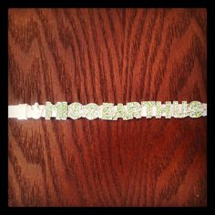 The new Miss Earth United States will have her own custom bling!  Order your own at https://facebook.com/myblingplace