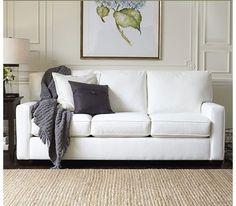 Pottery Barn: Buchanan Square Arm Upholstered Sofa