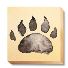CHI 057 Children's Art - Watercolour Bear Claw