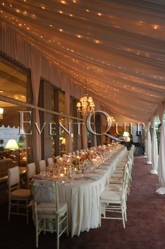 A Summer Dinner Party for 50 at the Four Seasons Hotel Philadelphia also perfect for a rehearsal dinner