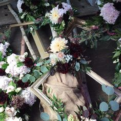 fabulous vancouver florist Inside of our van. We are on our way to set up our display for the #socialsessions15 . @idswest @poppytalk @tamarataggart @ohjoy . Designing something special. #flowerfactory #idswest by @flowerfactory  #vancouverflorist #vancouverflorist #vancouverwedding #vancouverweddingdosanddonts
