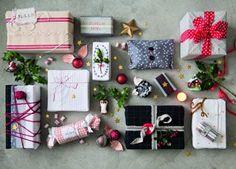 Faire des paquets cadeaux avec des chutes de tissu