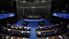 Senado decide levar Dilma a julgamento no processo de impeachment Foto: Senado brasileiro, Brasília