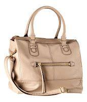 H & M beige day bag