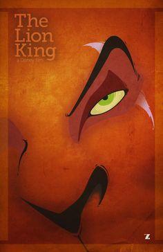 The Lion King Minimal Movie Poster Walt Disney, Disney Films, Disney Villains, Disney And Dreamworks, Disney Magic, Disney Art, Disney Pixar, Lion King Poster, Lion King 3