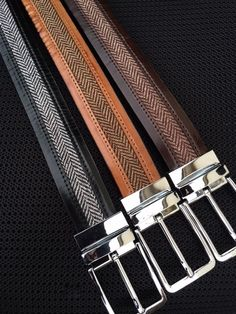 MorCouture  Footwear / Leather Tweed Belts