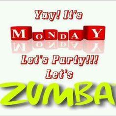 Zumba on monday