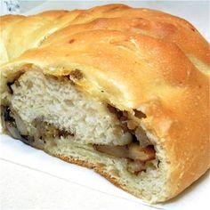 stuffed breakfast crescent