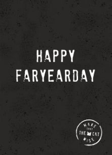 verjaardagskaart man - happy-faryaerday