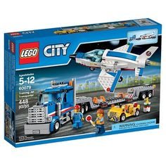 LEGO� City Space Port Training Jet Transporter 60079
