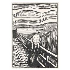Edvard Munch: The Scream Print