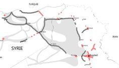 L'organisation Etat islamique a proclamé son califat à cheval sur l'Irak et la Syrie en juin 2014. Un an après, en dépit de frappes aériennes occidentales fréquentes, l'emprise de Daech sur le territoire n'a pas diminué. Syria, Islamic, Infographic, June, Horse, Organization