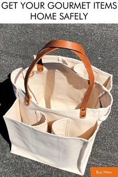 Sacs Tote Bags, Leather Tote Bags, Canvas Tote Bags, Waxed Canvas Bag, Leather Briefcase, Wine Gift Baskets, Basket Gift, Sacs Design, Fabric Bags