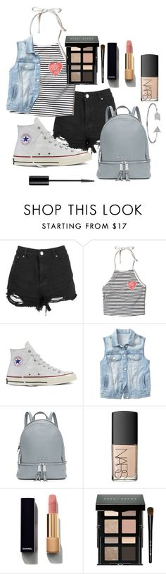 """""""Untitled #16"""" by marianayasmin on Polyvore featuring Boohoo, Hollister Co., Converse, Gap, MICHAEL Michael Kors, NARS Cosmetics, Christian Dior, Chanel, Bobbi Brown Cosmetics and Bling Jewelry"""