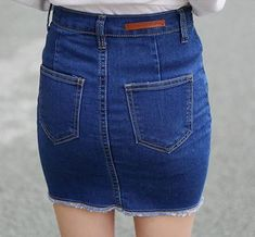 AQ67 Bandage Good Elastic Women Skirts Mini Sexy Slim Pencil Skirt Clubwear  Suitable Casual Formal Denim Skirt With Pockets ab3fd3906a74