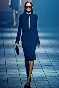 Love the simple lines and structure  of Lanvin Spring collection