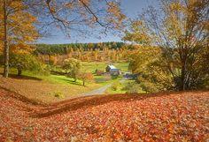 Autumn at Sleepy Hollow Farm by Photography by Steven Frudak, via Flickr