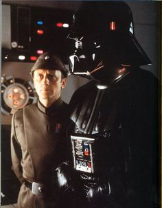 Lord Vader and Admiral Piett.