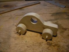 This is a plan for a simple wooden toy car.