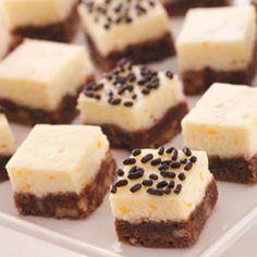 Chocolate+Cheesecake+Squares