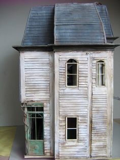 awesome doll house - Morticia would be happy here. wish I knew where the rest of the views were