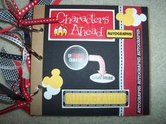 Affordable Disney Vacation Souvenirs: Do-It-Yourself Autograph Books | The Affordable Mouse