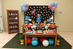 Space Astronaut Birthday Birthday Party Ideas | Photo 27 of 27