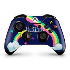 Rainbow Rider Xbox One Controller Skin Fortnite Fan Art Custom Xbox One Controller, Xbox Controller, Epic Games Fortnite, Wii Games, Call Of Duty, Playstation, Rainbow Riders, Saga Dragon Ball, Nintendo Switch Accessories