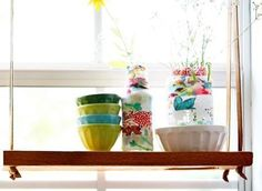 Fabric-wrapped vases make great gifts! Photo by Under The Sycamore
