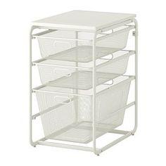 ALGOT Structure/3corbeilles filet/tab sup - IKEA