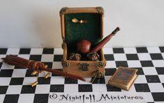 L'échelle Dollhouse Miniature magie Harry par NightfallMiniatures