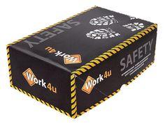 Package Design #Work4u #SafetyShoes #SafetyWear