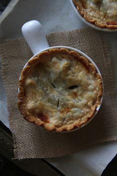 Green Bean Casserole Pot Pie