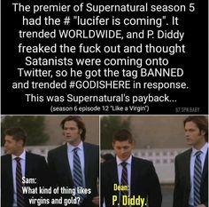 Cool #Supernatural fact.