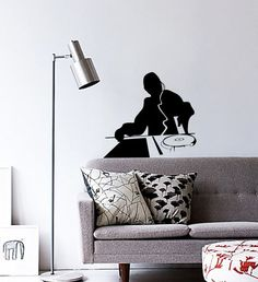 Dj Wall Decal Club Party Mix Dance Music Beat by VINYL2079DECALS, $27.00