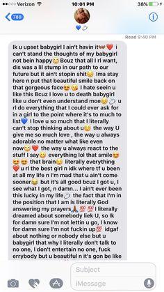 a paragraph to your boyfriend
