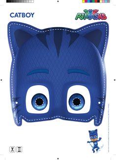 máscara menino gato