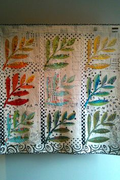 Becky Foldsmith's  Blowin in the Winds quilt   ellyn's place: road trip