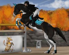 This is Aviance and her rider Laura. Laura and Aviance are training for an Olympic Competition. They make a great team. Cute Horses, Horse Love, Beautiful Horses, Horse Drawings, Animal Drawings, Art Drawings, Star Stable Horses, Spirit The Horse, Horse Animation