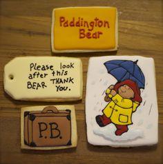 Paddington Bear sugar cookies...