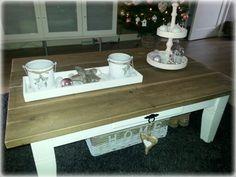Tafel laten pimpen met steigerhout