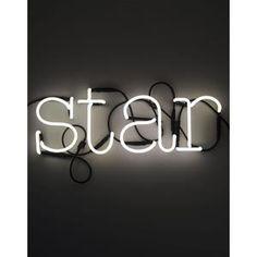 Vendita online SELETTI Lampade da parete SCRITTA STAR NEON