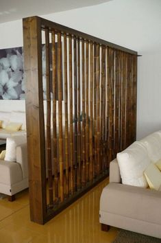 11 Grand Bamboo Room Divider Bead Curtains Ideas 11 Grand Bamboo Room Divider Bead Curtains Ideas Desert Poppy desertpoppyaus walls Simple and Modern Ideas Room Divider Cabinet Double nbsp hellip Room Divider diy Living Room Partition Design, Living Room Divider, Room Divider Walls, Room Partition Designs, Diy Room Divider, Divider Ideas, Wall Dividers, Partition Ideas, Fabric Room Dividers