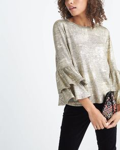 Go for the gold (or bronze, or silver). See how to give your look a metallic upgrade on the blog.