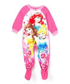 This Pink Disney Princess Blanket Sleeper - Toddler by Disney Princess is perfect! #zulilyfinds