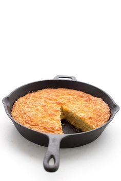 Keto Skillet Cheese Bread Recipe